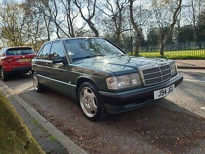 1992 Mercedes-Benz 190e 2.0 Auto with Beige leather (W201)