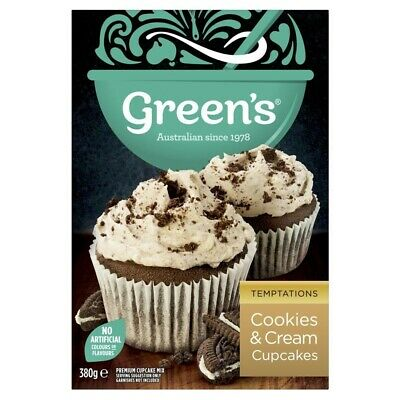 Green's Cookies & Cream Cupcakes 380g
