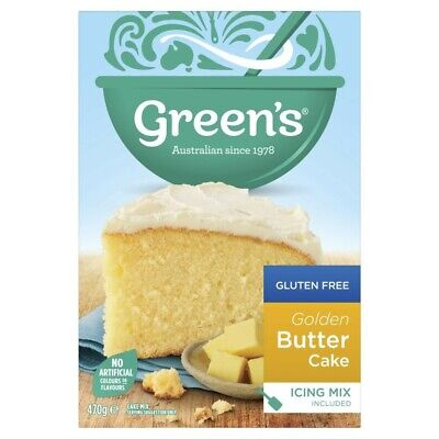 Green's Gluten Free Golden Butter Cake Mix 470g