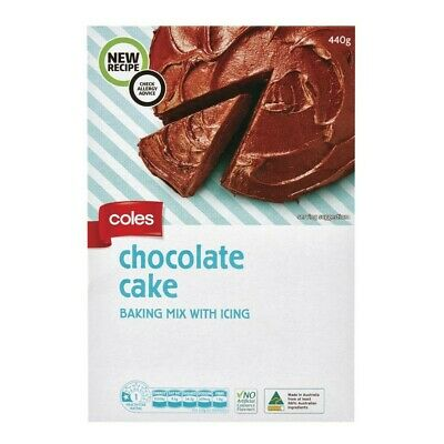 Coles Choc Cake With Icing 440g