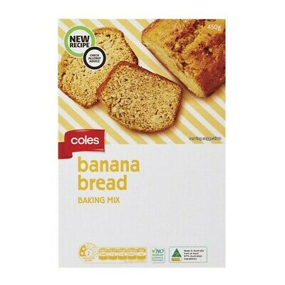 Coles Banana Bread Baking Mix 450g