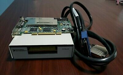National Instruments NI PCI-6281 18-bit with SCB-68 and SHC68-68-EPM cable