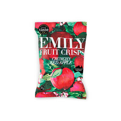 Emily Crisps Crunchy Apple 30 gram