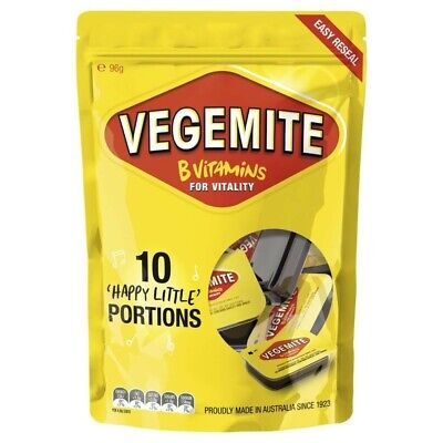 Vegemite Mini Portions 10 Pack 96g