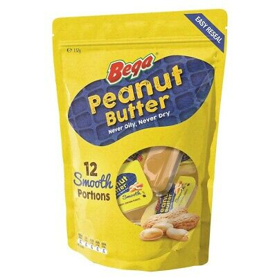 Bega Peanut Butter Smooth Portions 132g