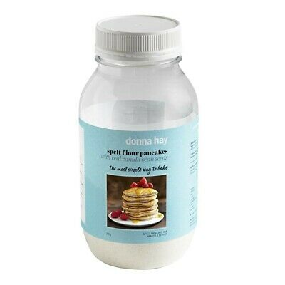 Donna Hay Spelt Flour Pancakes with Real Vanilla Bean Seeds 285g