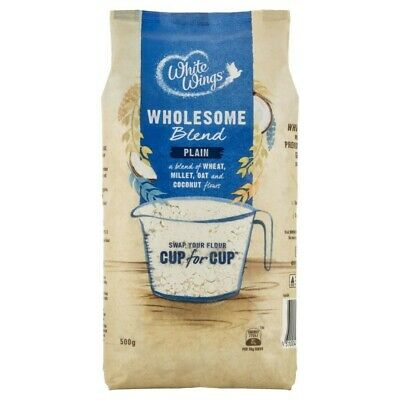 White Wings Wholesome Blend Plain Flour 500g