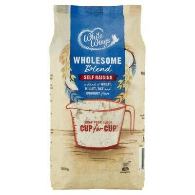 White Wings Flour Wholesome Self Raising 500 gram