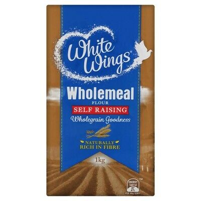 White Wings Wholemeal Self Raising Flour 1kg