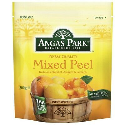 Angas Park Dried Fruit Mixed Peel 200g