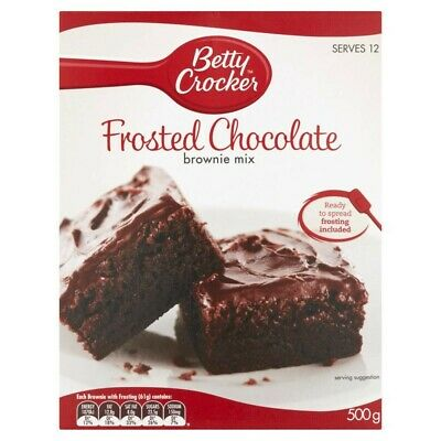 Betty Crocker Frosted Chocolate Brownie Mix 500g