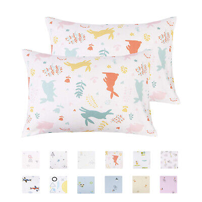 Cotton Toddler Pillowcases Ultra Soft Pillow Case Cover Set of 2 Pillow case New