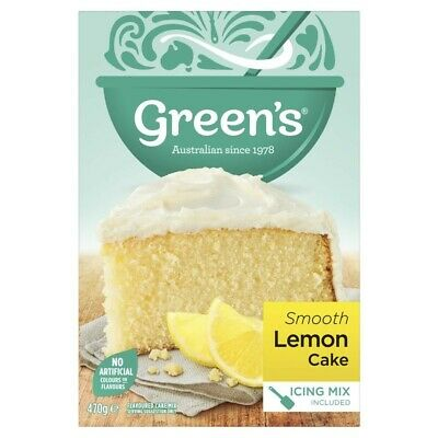 Green's Smooth Lemon Cake Mix 470g