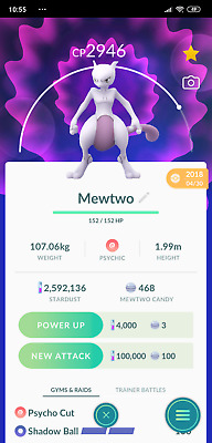 Pokemon Go - Legendary Mewtwo For Trade