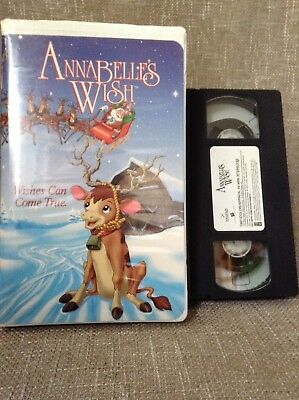 VHS~Annabelle's Wish~ 1997 ~ Christmas Holiday Classic