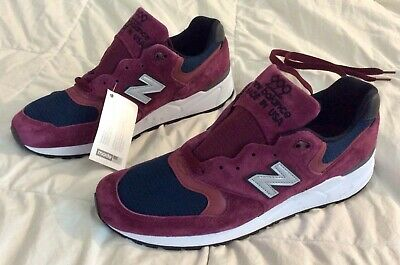 baf7ba8a19346 $180 NEW BALANCE 999 Maroon Navy Men's size 11 D MADE IN THE USA M999JTA 990