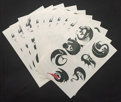 How To Train Your Dragon HTTYD Temporary Tattoos 10 Sheets Defenders of Berk