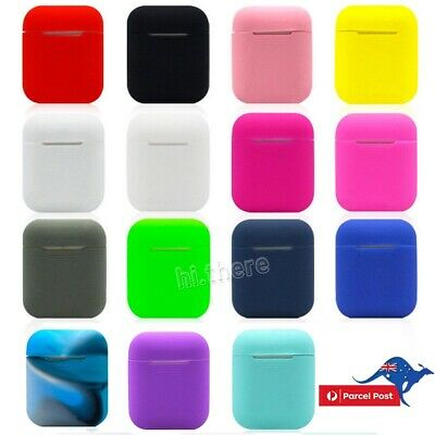 Shockproof For Apple Airpods case Cover Skin silicone Holder Airpod case