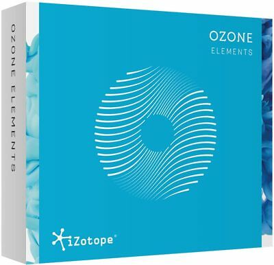 iZotope OZONE 8 Elements Mastering Suite Plugin (VST/AAX/AU) License