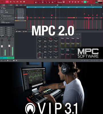 AKAI Software Bundle - MPC 2 + VIP 3 (VST/AU/AAX/Standalone) iLok Licenses