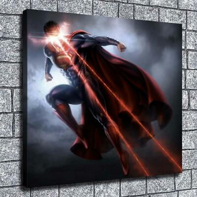 "12""x14"" DC Superman Paintings HD Prints on Canvas Home Decor Posters Wall Art"