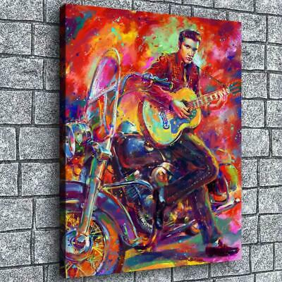 """12""""x16"""" Elvis Presley Poster Painting HD Prints Canvas Home Decor Room Wall Art"""