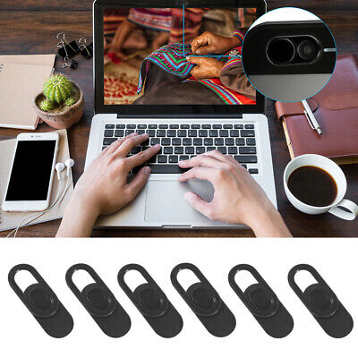 6x Webcam Cover Thin 0.7mm Camera Laptop Mobile Tablet Macbook PC Adhesive DC836