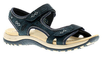 Earth Spirit Frisco Womens Ladies Sandals Navy UK Size