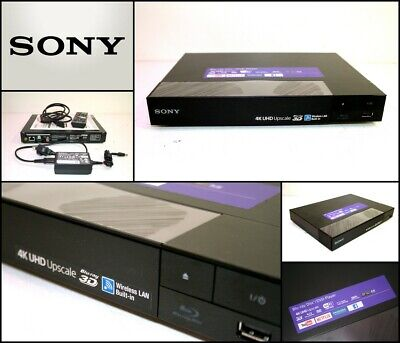 SONY BDPS6500 3D Streaming Blu-ray DVD Player with 4K Upscaling