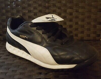 4a01bb216 Puma Trainers Astro Turf Soccer/Football Mens Black/White Soccer Shoes Sz  11.5
