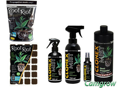 Clonex Mist 100ml, 300ml, 750ml & 1L concentrate- Ideal For Cuttings / Seeds
