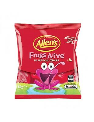 Allens Frogs Alive 64g x 20
