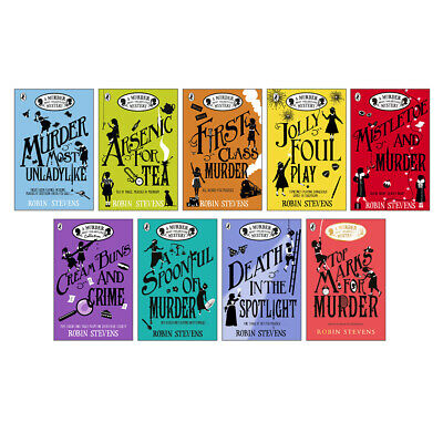 Murder Most Unladylike Series 9 Book Collection Robin Stevens (RRP £62.91)