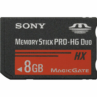 Sony 8GB Memory Stick Pro Duo HX Card for PSP/Digital Camera/Phone MSHX8A