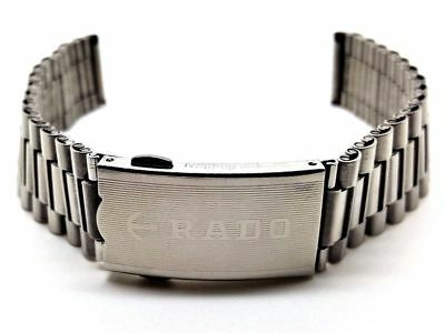 New 18Mm Rado Diastar Silver Gents Watch Strap.