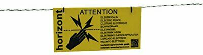PFIFF Warning Sign with Caution Electric Fence
