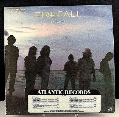 Firefall UNDERTOW, Vintage Vinyl, Atlantic PROMO (1980) Never Played