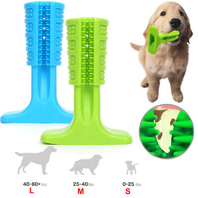 Dog Toothbrush Pet Teeth Cleaning Brushing Stick for Pets Oralcare Dogs Chew Toy