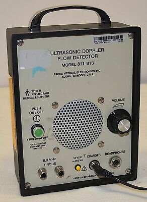 Parks Medical Ultrasonic Doppler Flow Detector 811-BTS