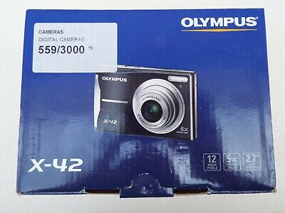 OLYMPUS X-42 12mp Digital Camera, Fully working. Used once, boxed. Free postage