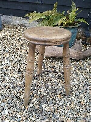 Victorian Industrial Mill Stool