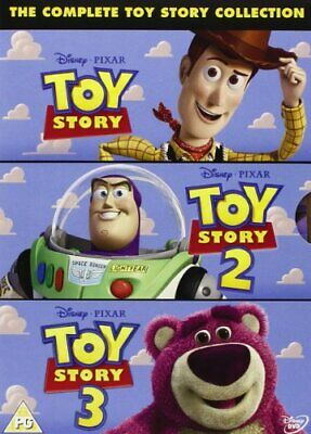 The Complete Toy Story Collection Toy Story  Toy Story 2  Toy Story 3 [DVD]