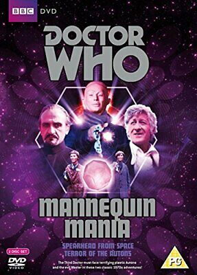 Doctor Who Mannequin Mania- Spearhead from Space  Terror of the Autons [DVD]