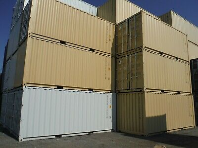 **20 ft SHIPPING CONTAINER (ONE TRIP)