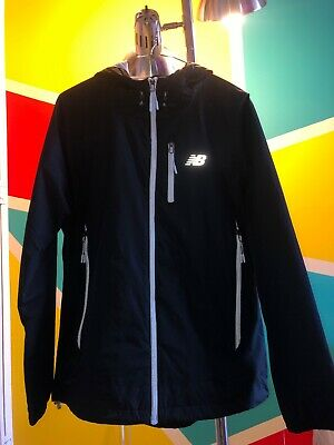 Clothing, Shoes & Accessories New Balance Heat Running Jacket Small Black Full Zip Thumb Holes Nwt Ygi G8-175 Women's Clothing