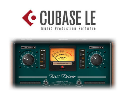Steinberg Cubase LE 10 + Nomad Factory Bus Driver