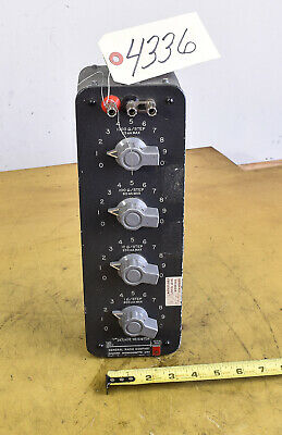 General Radio Type 1432J Decade Resistor Box (CTAM #4336)