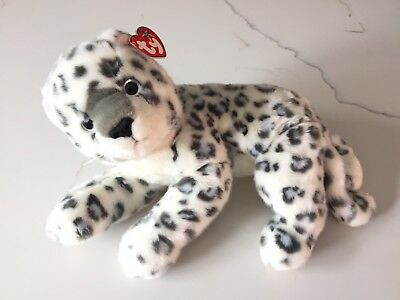 30c7bdf5c20 TY SNEAKY THE LEOPARD BEANIE BUDDY - MINT with MINT TAGS -  12.95 ...