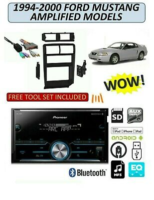 1994-2000 FORD MUSTANG w/AMP AM/FM USB AUX MP3 BLUETOOTH CAR RADIO STEREO PKG