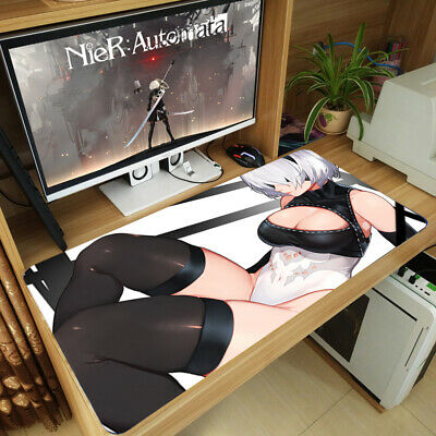 NieR Automata YoRHa Type B 2B Large Thicken Playmat Mousepad Mouse Pad Mat NO.66